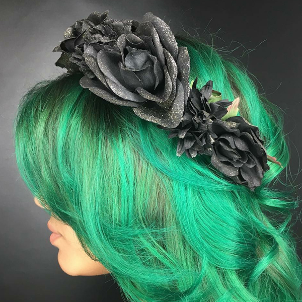 green hair winter springs fl salon
